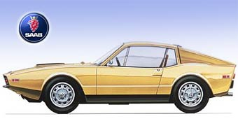Saab готовит большое купе