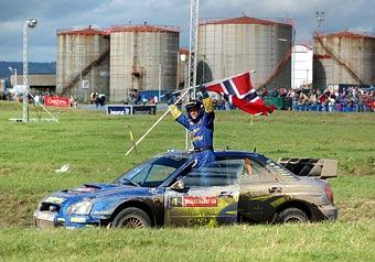 Петтер Сольберг готовится к своему 100-му старту в WRC