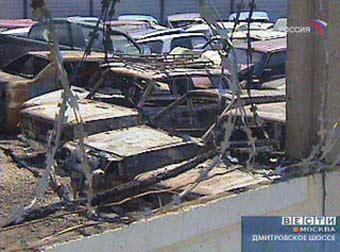 Владельцы сгоревших на штрафстоянке машин могут остаться без компенсации