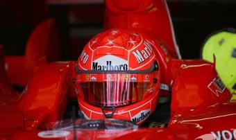 Шумахер побил рекорд трассы в Барселоне