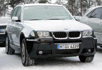 BMW X3 немного обновят