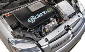 PSA создал компактный фургон с гибридным дизелем