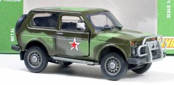 АвтоВАЗ создаст военный внедорожник