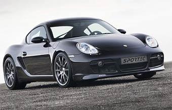 Sportec представила 380-сильный Porsche Cayman S