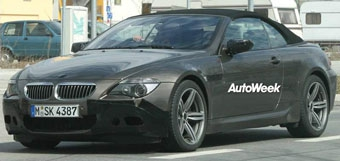BMW M6 станет кабриолетом