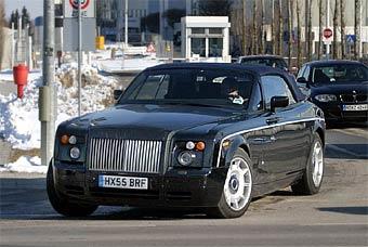 До премьеры кабриолета Rolls-Royce остается год