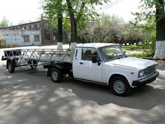 """ВИС создал грузовой тягач на базе """"Жигулей"""""""