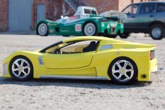 АвтоВАЗ представил модель дорожной версии своего спорткара