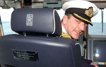 Rolls-Royce создал кресло для авианосца