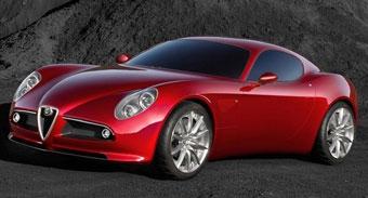 Alfa Romeo будет производить большое купе 8C Competizione