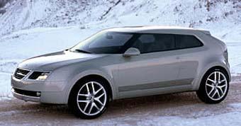 Saab готовит кроссовер для США и Европы