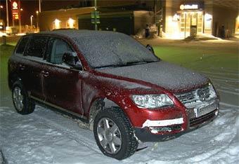 Volkswagen Touareg готовится к обновлению