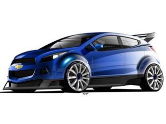 Chevrolet представит в Париже концепт спортивного хэчбэка