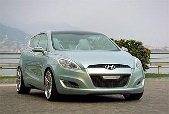 Hyundai показала прототип среднеразмерного хэтчбека
