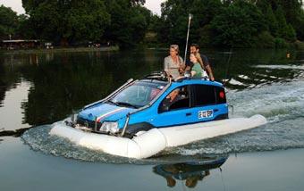 Fiat Panda покорил Ла Манш