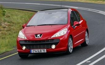 Peugeot анонсировал турбо-версию модели 207