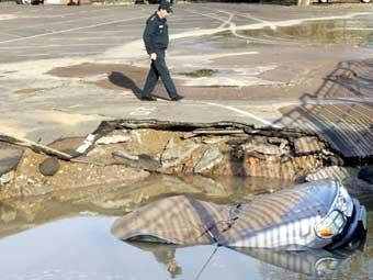 Ремонт дороги на улице Академика Королева завершен