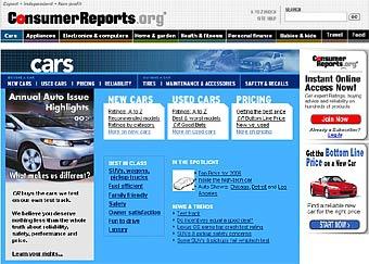Consumer Reports опубликовал новый рейтинг лучших автомобилей Америки