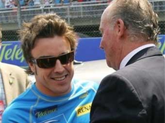 Фернандо Алонсо выиграл Гран-при Испании на глазах короля