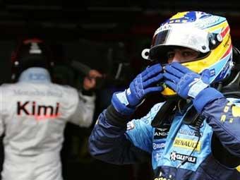 Фернандо Алонсо выиграл квалификацию на домашней трассе