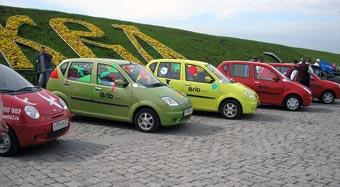 В Москве проходит фестиваль миниавтомобилей