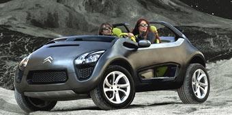 Citroen покажет в Мадриде концептуальный внедорожник