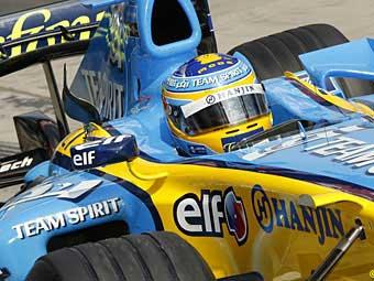 Алонсо опередил Шумахера на квалификации Гран-при Европы
