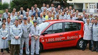 Renault выпустил миллионный Scenic II