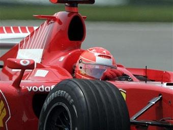Гран-при США завершился победой Михаэля Шумахера