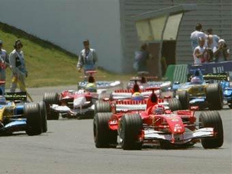 Михаэль Шумахер выиграл Гран-При Франции