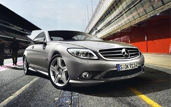 AMG предложила стайлинг-пакет для нового Mercedes CL