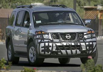 Nissan готовит обновленную версию внедорожника Armada