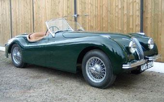 Петербург посетят 40 классических Jaguar XK