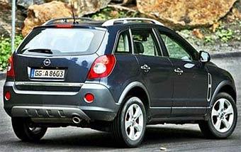 Появились новые фотографии внедорожника Opel Antara