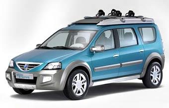 Dacia показала прототип универсала на базе модели Logan