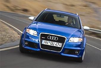 Audi представляет универсал и кабриолет RS4