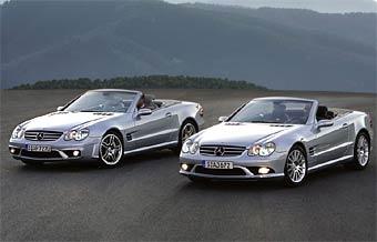 Mercedes SL от AMG стали еще мощнее