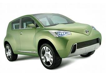 В Женеве Toyota покажет прототип компактного внедорожника