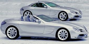 Mercedes готовит эксклюзивный родстер на базе SLR