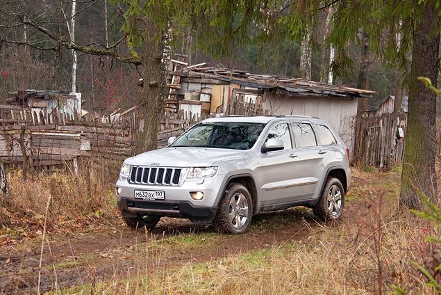 Тест-драйв Jeep Grand Cherokee. Фото 1