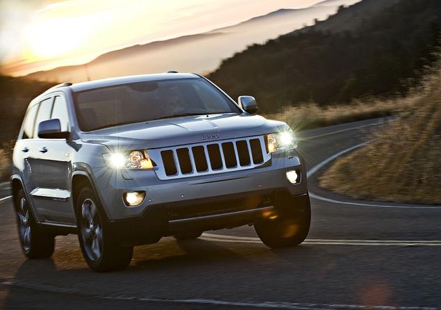 Тест-драйв Jeep Grand Cherokee. Фото 4
