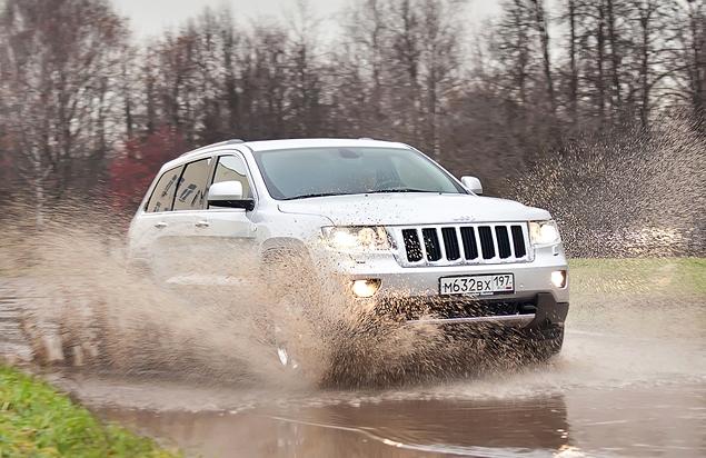 Тест-драйв Jeep Grand Cherokee. Фото 6