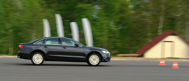 Сравниваем Audi A6 с BMW 5-Series и Mercedes-Benz E-Class. Фото 4