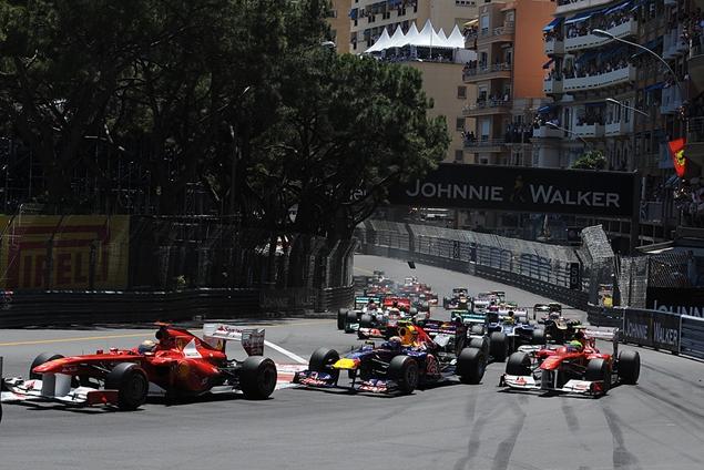 Гран-при Монако закончилось еще одной победой Феттеля. Фото 1