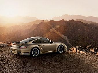 Компания Porsche подготовила эксклюзивный 911-й для китайцев