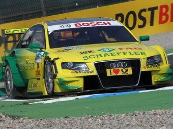 Мартин Томчик одержал победу в гонке DTM в Австрии
