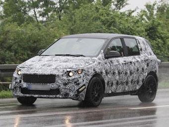 Компания BMW приступила к испытаниям переднеприводной модели