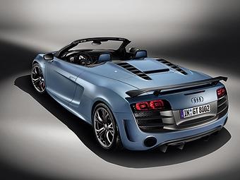 Представлен самый мощный и самый легкий родстер Audi R8
