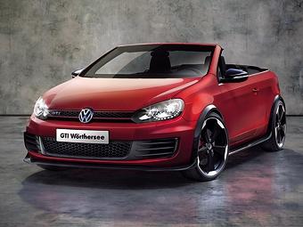 Концерн VW показал хэтчбек Golf GTI без крыши