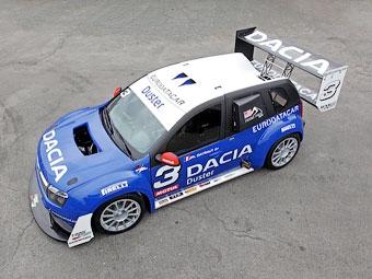 Рассекречен гоночный кроссовер Dacia Duster